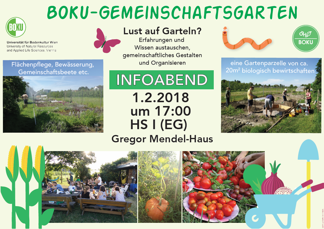 1.2.2018 um 17 Uhr im HS I (EG) Gregor Mendel-Haus